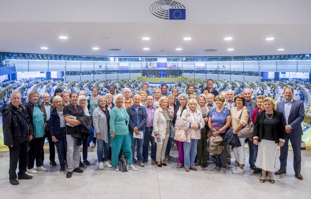 Besuch der Europa-Union Offenbach am 9. September.