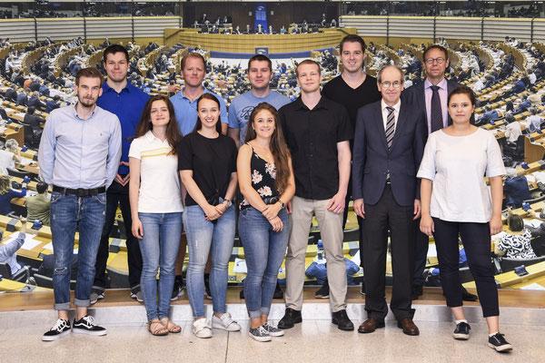 Besuch von Studenten der Hochschule Darmstadt am 6. Juni.