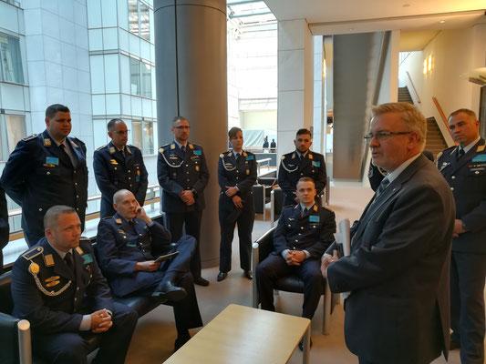 Besuch von Soldaten der 3./ Unteroffiziersschule der Luftwaffe am 15. Mai.