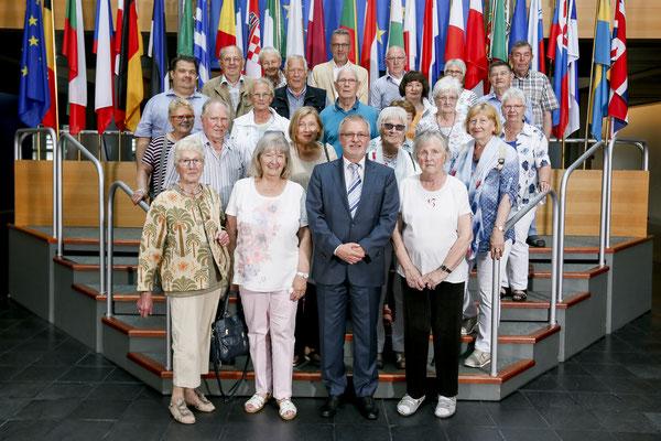 Besuch der Senioren-Union Groß-Zimmern am 29. Mai.