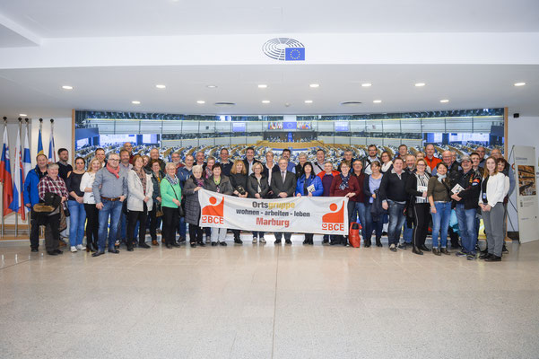 Besuch der IGBCE Ortsgruppe Marburg am 25. Februar.