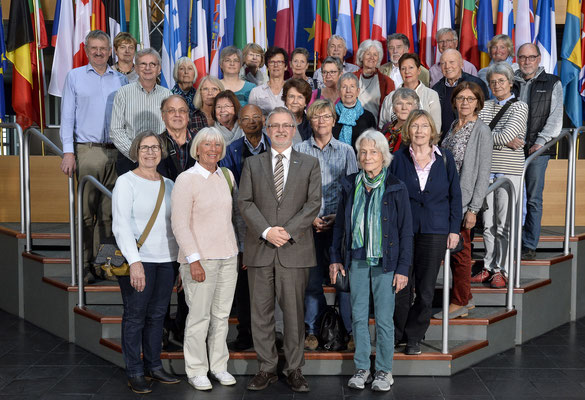 Besuch einer Gruppe der Akademie 55 Plus aus Darmstadt am 05. April 2017.