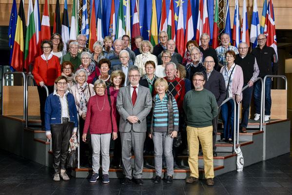 Besuch einer Gruppe aus Bad Schwalbach am 24. Oktober 2017.