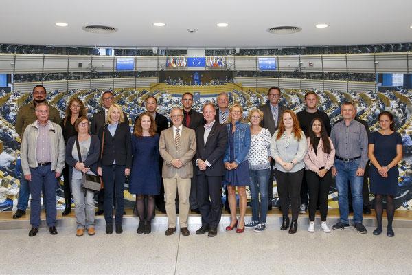 Besuch von Wissenschaftler der Führungsakademie der Bundeswehr am 28. August.