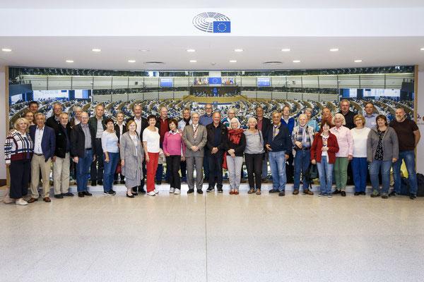Besuch des Freundeskreises Europ. Partnerschaften Liederbach am 10 September.