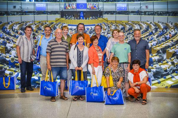 Besuch von Bürgern einer Jahrgangsreise aus Hessen am 7. Juni.