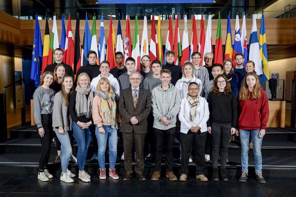 Besuch des Schulzentrums Marienhöhe am 12. Februar.