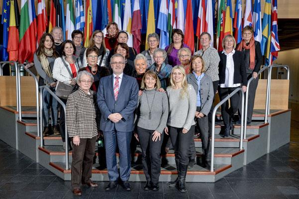 Besuch der Frauen Union Hattersheim am 12. Dezember 2017.