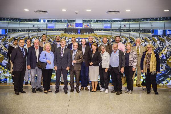 Besuch des Landesfachausschusses Europa der CDU Hessen am 18. Juni.