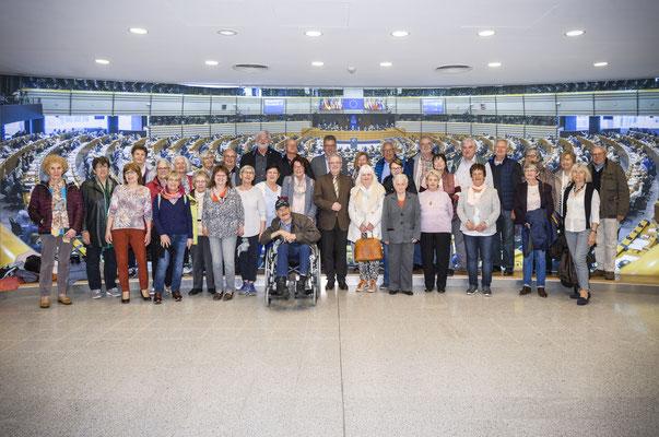 Besuch des Ortsverbands und der Senioren Union Groß-Zimmern am 8. April.
