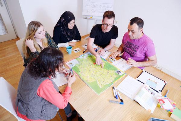 Deutsch in kleinen Gruppen