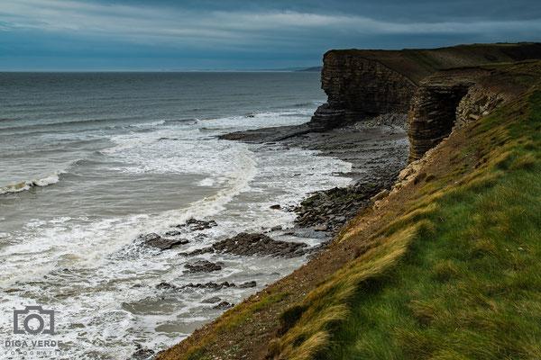 De zuidkust van Wales