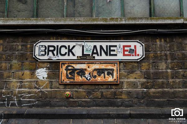 Op weg naar Brick Lane