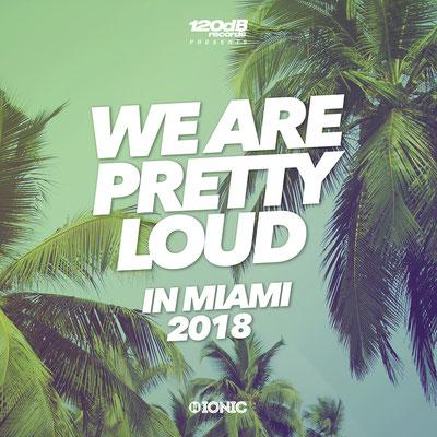 120dB & IONIC Records - We Are Pretty Loud in Miami 2018