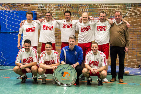 Die Turniersieger: Das Team Lebensfreude