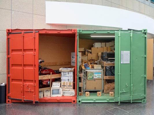 Der Container - das Maß aller Dinge.