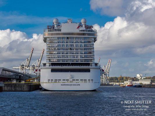 Das Schiff von achtern