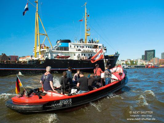 """""""Stek ut"""", ein historisches Festmacherboot"""