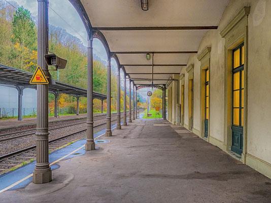 Der Bahnhof Rolandseck