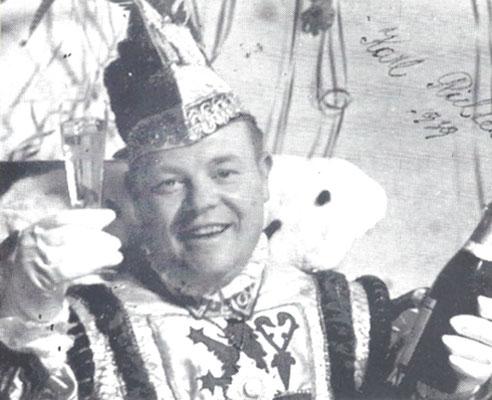 1939 - 1947 Karl I., Karl Richter kriegsbedingt mit der längsten Regentschaft