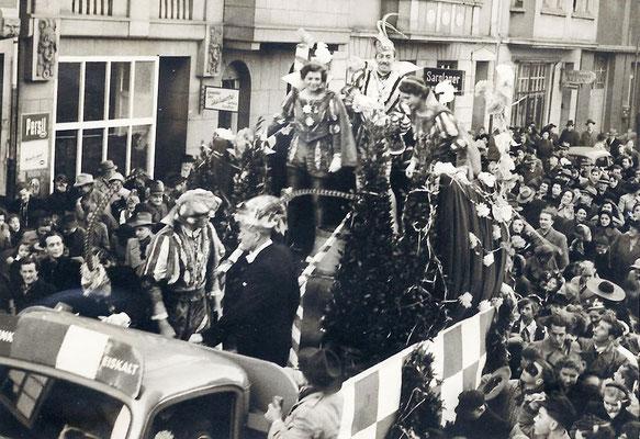 Prinz Gustav I., Gustav Karsunke im Wiesdorfer Zug