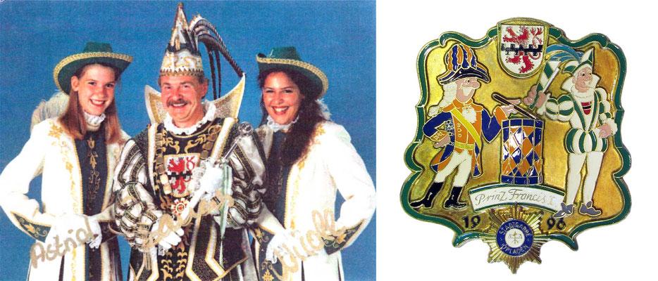 1996 Francis I., Francis Nyns - Prinzenorden