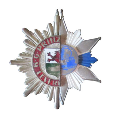 Halsorden bei Gemeinschaftssitzungen der Prinzengarde Leverkusen und der GroLeKa