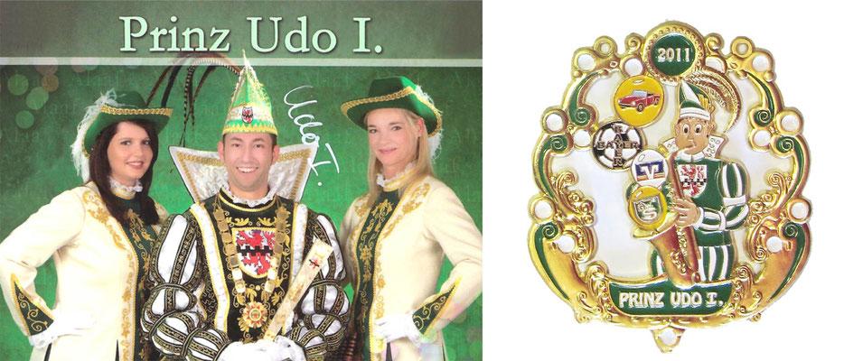 2011 Udo I., Udo Totzke - Prinzenorden