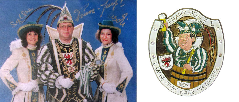 1994 Franz-Josef I., Franz-Josef Gatzka - Prinzenorden