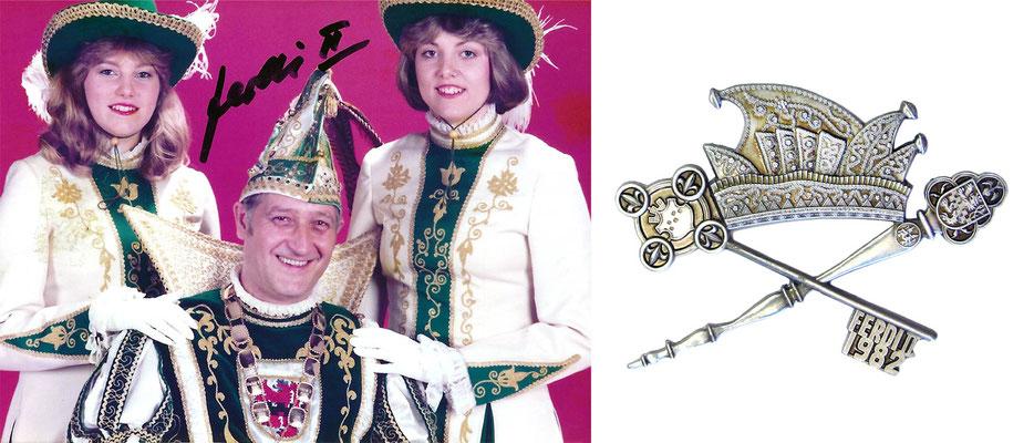 1982 Ferdi II., Ferdi Wiechert - Prinzenorden