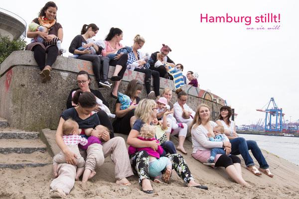 Hamburg stillt! Stillen in der Öffentlichkeit 3