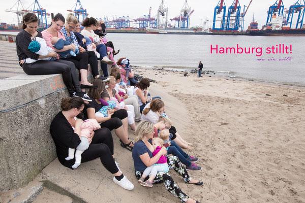Hamburg stillt! Stillen in der Öffentlichkeit 2