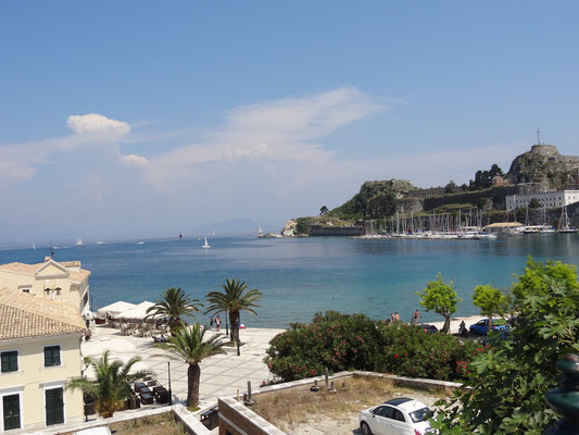 Old Fortress and Faliraki