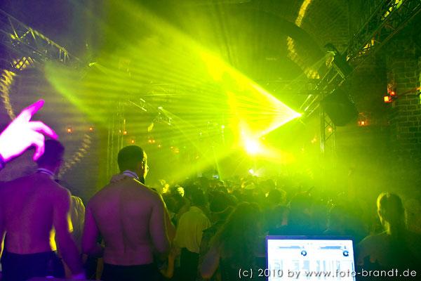 Lichtshow und Showact, Karneval Expo 21