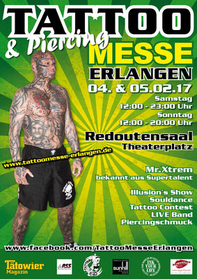 Tattoo Messe Erlangen - Tattoo No. Two
