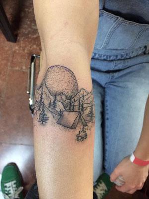 8. Tattoo Convention Gera - Tattoo No. Two - Tattoo by Will