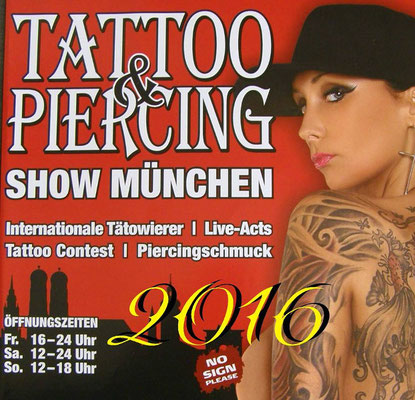Convention München 2016 - Tattoo No. Two