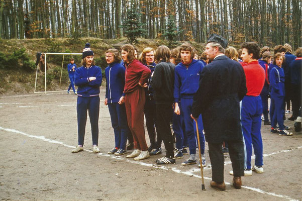 Sportfest 1973: Handballturnier auf der Waldbühne 1973