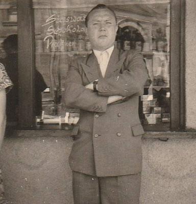 1956: Direktor Herr Ewers, Foto: von H. Hasselmann