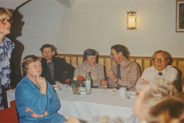 1979: Feier zur Einweihung des Schulclubs