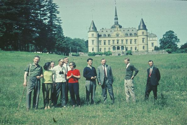 1967: Studienfahrt des Lehrerkollegiums nach Rügen, Ralswieck, heute Spielort der Störtebecker-Festspiele.