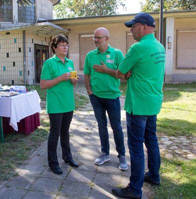 Die fleißigen Organisatoren vom Förderverein