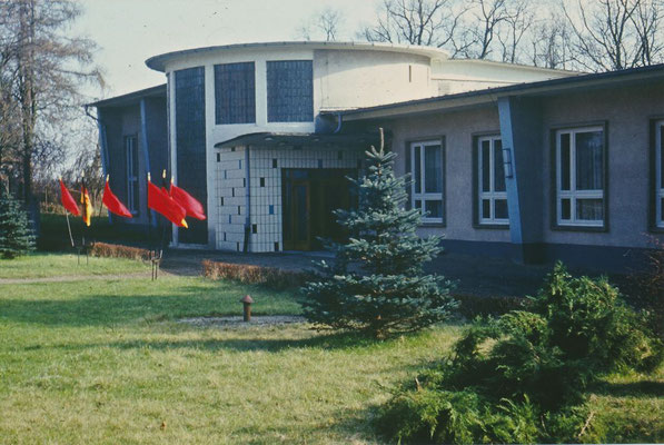 1973: Die Aula