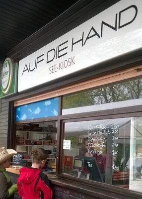 See-Kiosk Auf die Hand am Wißmarer See in Wettenberg