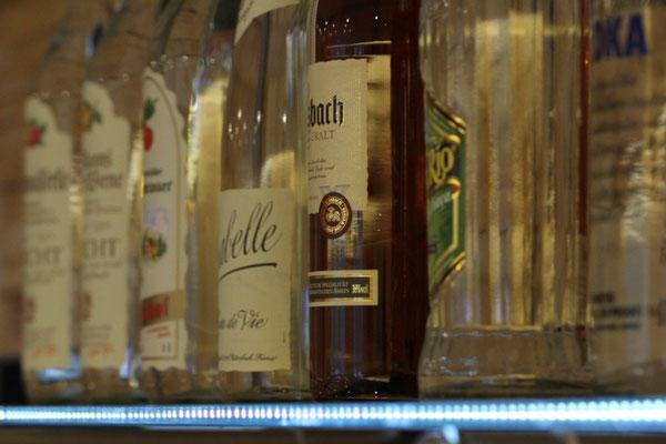 Getränke im Restaurant Zum Kormoran am Wißmarer See