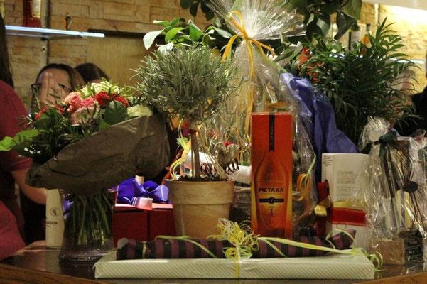 Nette Geschenke zur Eröffnung des Restaurants Zum Kormoran am Wißmarer See