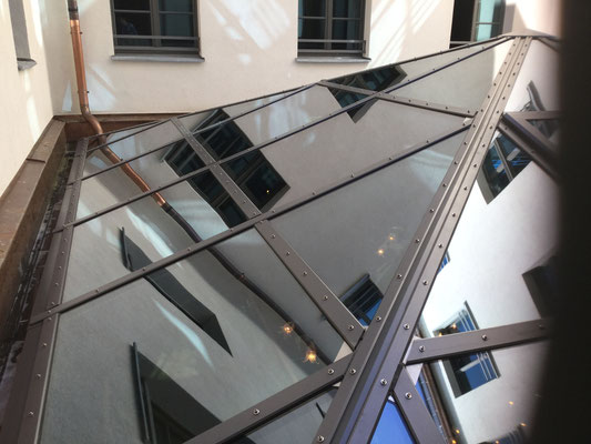 Glaskuppel Reinigung in München