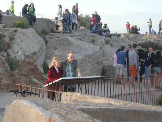 Aujourd'hui, le Turo de la Rovira est un lieu pédagogique tel un musée, mais aussi un lieu de rencontre qui attire habitants et touristes de Barcelone.