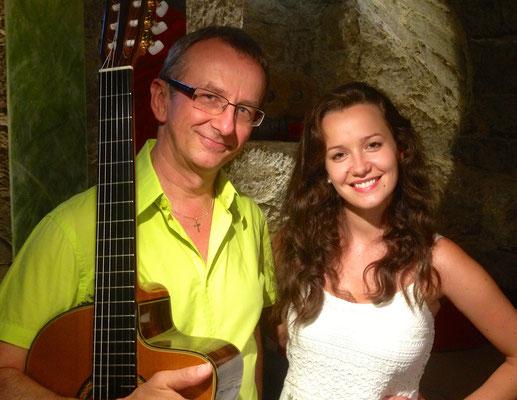 Acoustic Duo mit der Hochzeitssängerin VioLa
