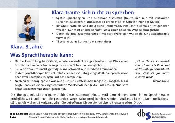 Mutismus_Sprachtherapie/Logopädie Halle